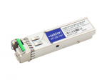 SFP (mini-GBIC) transceiver module (equivalent to: Netgear AXM-SFP1G-BX-D120) - GigE - 1000Base-BX-D - LC single-mode - up to 74.6 miles - 1550 (TX) / 1490 (RX) nm - TAA Compliant