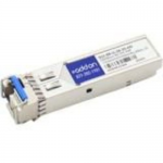 SFP (mini-GBIC) transceiver module (equivalent to: Cisco GLC-BX-U) - GigE - 1000Base-BX-U - LC single-mode - up to 12.4 miles - 1310 (TX) / 1550 (RX) nm - TAA Compliant - for Cisco Catalyst Compact 2960 Integrated Services Router 11XX Nexus 93180 9372