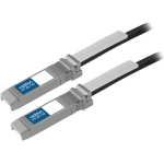 HP to Brocade Dual OEM Direct Attach - Direct attach cable - SFP+ to SFP+ - 10 ft - twinaxial - active - for Brocade ICX 64XX 7750; VDX 67XX; HPE Modular Smart Array 1040; ProLiant DL360p Gen8