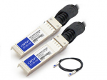 HP 537963-B21 to Force10 CBL-10GSFP-DAC-5M Compatible 10GBase-CU SFP+ to SFP+ Direct Attach Cable (Passive Twinax 5m) - Guaranteed 100% Compatible