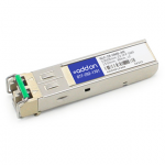 Cisco GLC-ZX-SMD Compatible SFP Transceiver - SFP (mini-GBIC) transceiver module (equivalent to: Cisco GLC-ZX-SMD) - GigE - 1000Base-ZX - LC single-mode - up to 49.7 miles - 1550 nm - for Cisco Integrated Services Router 11XX ME 3600 MWR 2941 Nexus 931