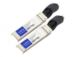 10GBase direct attach cable - SFP+ to SFP+ - 10 ft - twinaxial - active - TAA Compliant