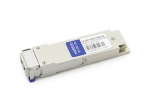 QSFP+ transceiver module (equivalent to: Dell GP-QSFP-40GE-PSM4) - 40 Gigabit LAN - 40GBase-PLR4 - MPO single-mode - up to 6.2 miles - 1310 nm - TAA Compliant
