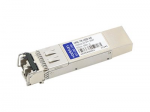 Checkpoint Compatible SFP+ Transceiver - SFP+ transceiver module (equivalent to: Check Point CPAC-TR-10SR) - 10 GigE - 10GBase-SR - LC multi-mode - up to 984 ft - 850 nm - for Check Point 21400 Appliance