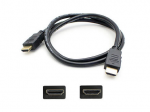 4.57m (15.00ft) HDMI 1.4 Male to Male Black Cable - 100% compatible with select devices.