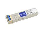 SFP (mini-GBIC) transceiver module (equivalent to: IBM BN-CKM-S-ZX) - GigE - 1000Base-LX - LC single-mode - up to 6.2 miles - 1310 nm - TAA Compliant