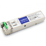 Extreme MGBIC-BX10-U Compatible SFP Transceiver - SFP (mini-GBIC) transceiver module (equivalent to: Extreme MGBIC-BX10-U) - GigE - 1000Base-BX - LC single-mode - up to 24.9 miles - 1310 (TX) / 1490 (RX) nm