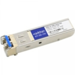 Cisco ONS-SI-100-LX10 Compatible SFP Transceiver - SFP (mini-GBIC) transceiver module - 100Mb LAN - 100Base-LX - LC single-mode - up to 6.2 miles - 1310 nm - for P/N: 15454-ML100X-8=