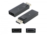 5 Pack DisplayPort to HDMI Adapter - HDMI adapter - DisplayPort / HDMI - DisplayPort (M) to HDMI (F) - black (pack of 5)