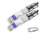 40GBase direct attach cable - QSFP+ (M) to QSFP+ (M) - 16.4 ft - twinaxial - passive - TAA Compliant