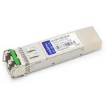 Juniper Compatible SFP+ Transceiver - SFP+ transceiver module (equivalent to: Juniper QFX-SFP-10GE-ER) - 10 GigE - 10GBase-ER - LC single-mode - up to 24.9 miles - 1550 nm - for Juniper QFX Series QFX3500 Switch