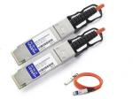 QSFP+ Module - For Optical Network Data Networking - 1 x 40GBase-AOC - Optical Fiber - 40 Gbps 40 Gigabit Ethernet