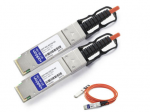 QSFP+ Module - For Optical Network Data Networking - 1 x 40GBase-AOC - Optical Fiber - 40 Gbps 40 Gigabit Ethernet