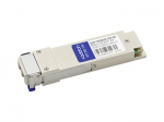 MSA Compliant 40GBase-LR4 QSFP+ Transceiver - QSFP+ transceiver module - 40 Gigabit LAN - 40GBase-LR4 - LC single-mode - up to 6.2 miles - 1270-1330 nm