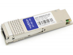 MSA Compliant 40GBase-PLR4 QSFP+ Transceiver - QSFP+ transceiver module - 40 Gigabit LAN - 40GBase-PLR4 - MPO single-mode - up to 6.2 miles - 1310 nm