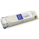 Cisco QSFP-40GE-LR4 Compatible QSFP+ Transceiver - QSFP+ transceiver module (equivalent to: Cisco QSFP-40GE-LR4) - 40 Gigabit LAN - 40GBase-LR4 - LC single-mode - up to 6.2 miles - 1270-1330 nm - for Cisco Nexus 93108TC-EX 93180YC-FX 9336C-FX2 9372PX-E