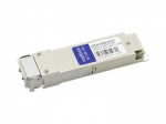 QSFP28 transceiver module - 100 Gigabit Ethernet - 100GBase-LR4 - LC single-mode - up to 6.2 miles - 1270-1330 nm - TAA Compliant