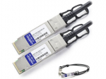QSFP+ Module - For Data Networking - 1 x 40GBase-CU - Copper - 40 Gbps 40 Gigabit Ethernet