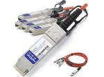 15m Cisco Compatible QSFP+ Breakout AOC - Network cable - SFP+ (M) to QSFP+ (M) - 15 m - fiber optic - active - for Cisco Nexus 31XX 93XX 93XXX X97160 X9736 ONE Nexus 31108 32XX 56XX 92XX 93XXX
