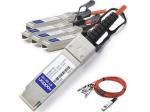 5m Cisco Compatible QSFP+ Breakout AOC - Network cable - SFP+ (M) to QSFP+ (M) - 5 m - fiber optic - active - for Cisco Nexus 31XX 93XX 93XXX X97160 X9736 ONE Nexus 31108 32XX 56XX 92XX 93XXX