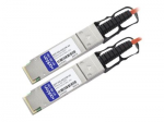 15m Industry Standard QSFP+ AOC - Network cable - QSFP+ to QSFP+ - 49 ft - fiber optic - active