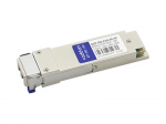 QSFP+ transceiver module (equivalent to: Arista Networks QSFP-40G-PLR4) - 40 Gigabit LAN - 40GBase-PLR4 - MPO single-mode - up to 6.2 miles - 1310 nm