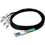 Network cable - SFP+ (M) to QSFP+ (M) - 6.6 ft - for Cisco Nexus 3064-E 3064PQ 93108TC-EX 93180YC-FX 9336C-FX2 9372PX-E