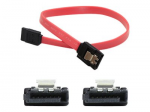 5 pack of 15.24cm (6.00in) SATA Female to Female Red Cable - 100% compatible with select devices.