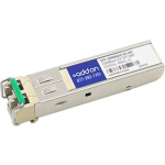 MSA Compliant 1000Base-EX SFP Transceiver - SFP (mini-GBIC) transceiver module - GigE - 1000Base-EX - LC single-mode - up to 24.9 miles - 1310 nm
