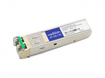 SFP (mini-GBIC) transceiver module (equivalent to: Finisar FTLF1518P1BTL) - GigE - 1000Base-ZX - LC single-mode - up to 43.5 miles - 1550 nm - TAA Compliant