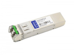 SFP+ transceiver module (equivalent to: Finisar FTLX1871M3BCL) - 10 GigE - 10GBase-ZR - LC single-mode - up to 49.7 miles - 1550 nm - TAA Compliant