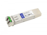 XFP transceiver module (equivalent to: Finisar FTLX4213M3BCL) - 10 GigE - 10GBase-ZR - LC single-mode - up to 74.6 miles - 1550 nm - TAA Compliant