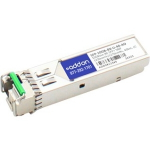 MSA Compliant 10GBase-BX SFP+ Transceiver - SFP+ transceiver module - 10 Gigabit Ethernet - 10GBase-BX - LC single-mode - up to 24.9 miles - 1270 (TX) / 1330 (RX) nm