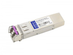 SFP+ transceiver module - 10 GigE - 10GBase-CWDM - LC single-mode - up to 49.7 miles - 1270 nm - TAA Compliant