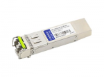 SFP+ transceiver module - 10 GigE - 10GBase-CWDM - LC single-mode - up to 49.7 miles - 1310 nm - TAA Compliant