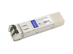 SFP+ transceiver module - 10 GigE - 10GBase-CWDM - LC single-mode - up to 49.7 miles - 1430 nm - TAA Compliant