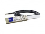 0.5m Alcatel Compatible SFP+ DAC - Direct attach cable - SFP+ to SFP+ - 1.6 ft - twinaxial