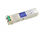 SFP (mini-GBIC) transceiver module - GigE - 1000Base-DWDM - LC single-mode - up to 49.7 miles - channel: 28 - 1554.94 nm - TAA Compliant