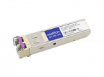 SFP (mini-GBIC) transceiver module - GigE - 1000Base-CWDM - LC single-mode - up to 49.7 miles - 1270 nm - TAA Compliant
