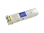 SFP (mini-GBIC) transceiver module - GigE - 1000Base-CWDM - LC single-mode - up to 49.7 miles - 1310 nm - TAA Compliant