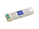 SFP (mini-GBIC) transceiver module - GigE - 1000Base-DWDM - LC single-mode - up to 49.7 miles - channel: 57 - 1531.90 nm - TAA Compliant