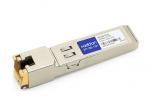 Meraki SFP-1GB-TX Compatible SFP Transceiver - SFP (mini-GBIC) transceiver module (equivalent to: Meraki MA-SFP-1GB-TX) - GigE - 1000Base-TX - RJ-45 - up to 328 ft