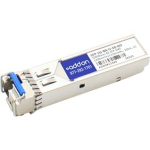 MSA Compliant 1000Base-BX SFP Transceiver - SFP (mini-GBIC) transceiver module - GigE - 1000Base-BX - LC single-mode - up to 12.4 miles - 1310 (TX) / 1490 (RX) nm