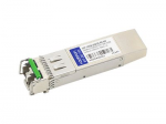 SFP+ transceiver module - 10 GigE - 10GBase-DWDM - LC single-mode - up to 49.7 miles - channel: 28 - 1554.94 nm - TAA Compliant