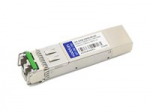 SFP+ transceiver module - 10 GigE - 10GBase-DWDM - LC single-mode - up to 49.7 miles - channel: 46 - 1540.56 nm - TAA Compliant