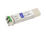 SFP+ transceiver module - 10 GigE - 10GBase-DWDM - LC single-mode - up to 49.7 miles - channel: 49 - 1538.19 nm - TAA Compliant