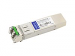SFP+ transceiver module - 10 GigE - 10GBase-DWDM - LC single-mode - up to 49.7 miles - channel: 50 - 1537.40 nm - TAA Compliant