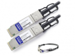 4m Industry Standard QSFP+ DAC - Direct attach cable - QSFP+ to QSFP+ - 13 ft - twinaxial - passive