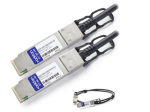 0.5m Industry Standard QSFP+ DAC - Direct attach cable - QSFP+ to QSFP+ - 1.6 ft - twinaxial
