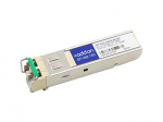 SFP (mini-GBIC) transceiver module - CWDM - LC single-mode - up to 49.7 miles - OC-3 - 1550 nm - TAA Compliant